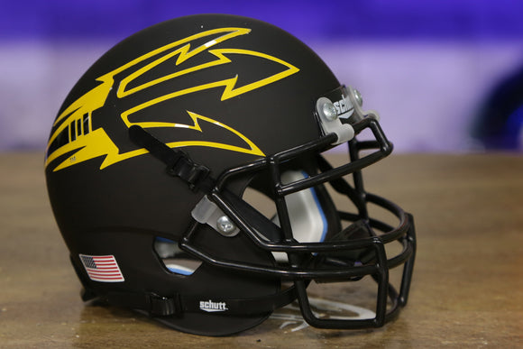 Arizona State Sun Devils Schutt XP Mini Helmet - Matte Black w/Large Fork