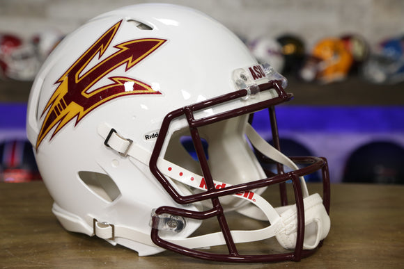 Arizona State Sun Devils Riddell Speed Authentic Helmet - White