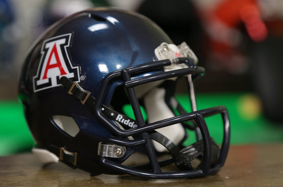 Arizona Wildcats Riddell Speed Mini Helmet - Navy