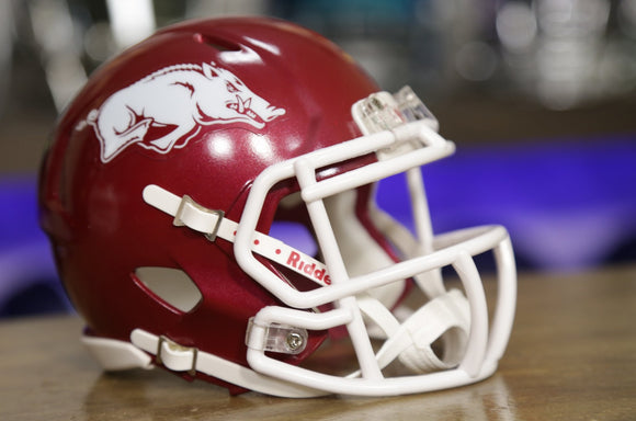 Arkansas Razorbacks Riddell Speed Mini Helmet