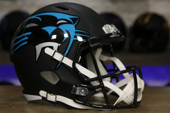 Carolina Panthers Special Edition AMP Replica Helmet