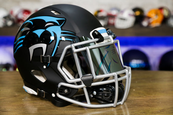 Carolina Panthers Special Edition AMP Authentic Helmet - Upgraded Edition