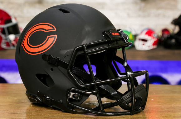 Chicago Bears Special Edition Eclipse Authentic Helmet