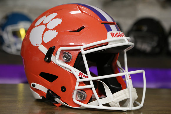 Clemson Tigers Riddell SpeedFlex Authentic Helmet