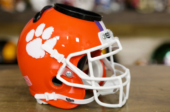 Clemson Tigers Schutt XP Mini Desk Caddie