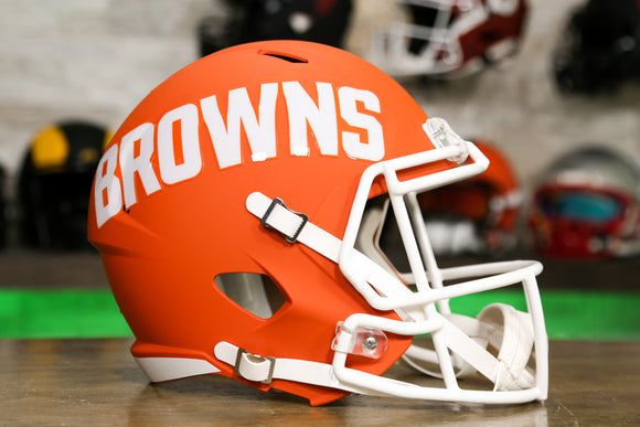 Cleveland Browns Limited Edition AMP Replica Helmet