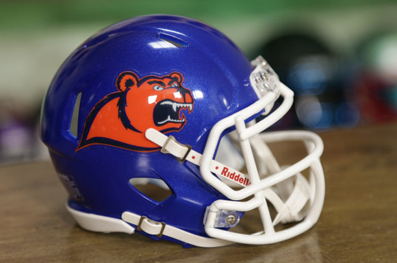Coast Guard Bears Riddell Speed Mini Helmet