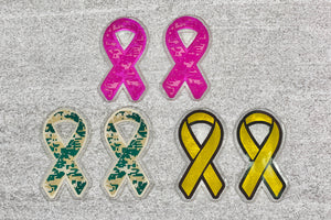 Ribbon Award Decals