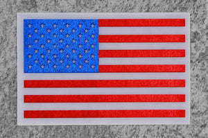 OVERSIZED US Flag Helmet Decal