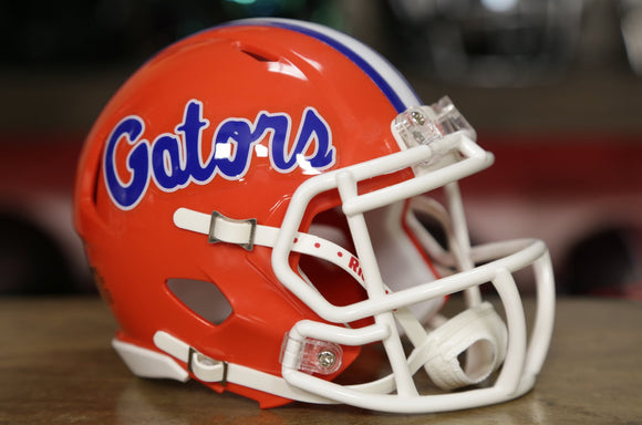 Florida Gators Riddell Speed Mini Helmet - Orange