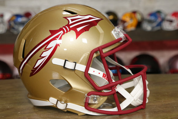 Florida State Seminoles Riddell Speed Replica Helmet - Gold