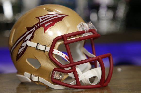 Florida State Seminoles Riddell Speed Mini Helmet - Gold