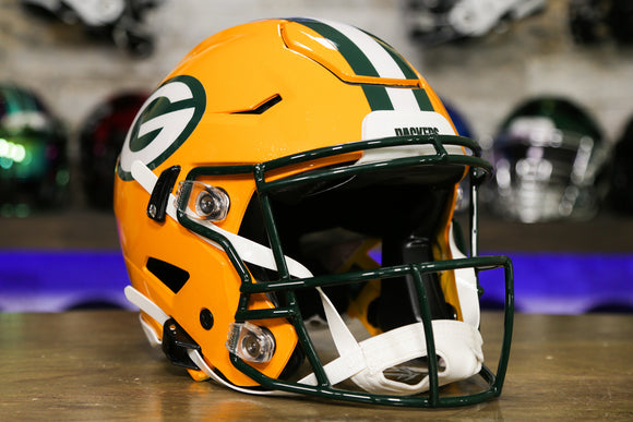 Green Bay Packers Riddell SpeedFlex Authentic Helmet