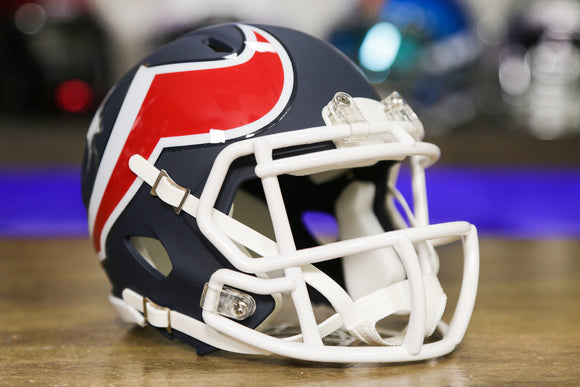 Houston Texans Limited Edition AMP Mini Helmet