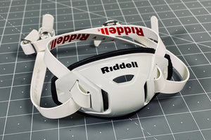 Riddell Hard Cup Chinstrap Buckles - White