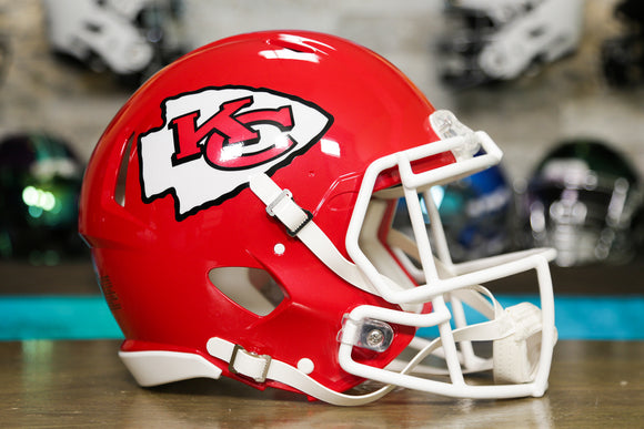 Kansas City Chiefs Riddell Speed Authentic Helmet