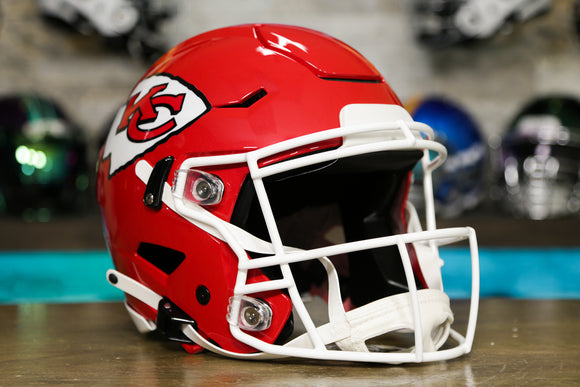Kansas City Chiefs Riddell SpeedFlex Authentic Helmet