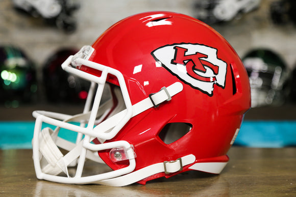 Kansas City Chiefs Riddell Speed Replica Helmet