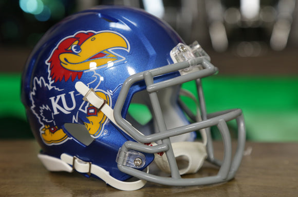 Kansas Jayhawks Riddell Speed Mini Helmet