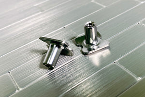"Stainless Steel 3/8"" T-Nuts (2)"
