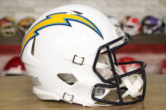 San Diego Chargers Riddell Speed Authentic Helmet - 2007-2018 Throwback