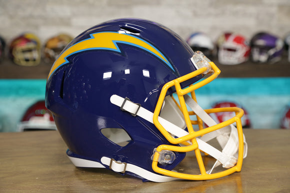 San Diego Chargers Riddell Speed Replica Helmet - 1974-1987 Throwback