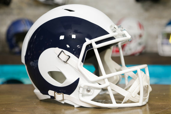 Los Angeles Rams Limited Edition AMP Replica Helmet