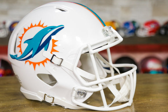 Miami Dolphins Riddell Speed Authentic Helmet