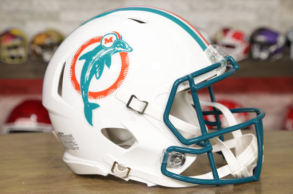 Miami Dolphins Riddell Speed Authentic Helmet - 1980-1996 Throwback