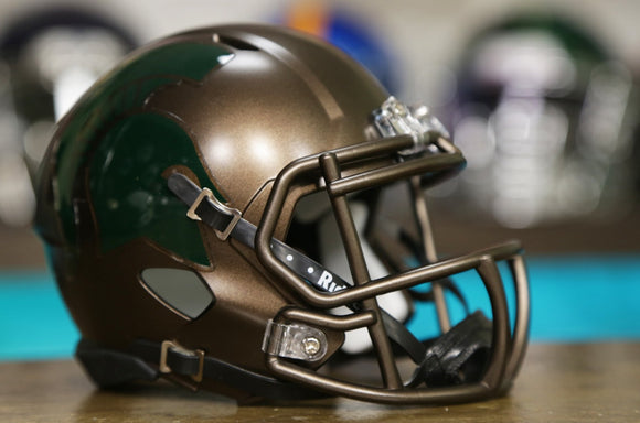 Michigan State Spartans Riddell Speed Mini Helmet - Bronze
