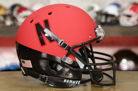 Nebraska Cornhuskers Schutt XP Replica Helmet - Two Toned Red and Black