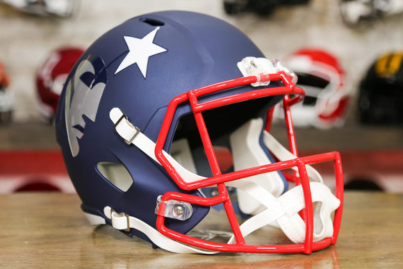 New England Patriots Limited Edition AMP Replica Helmet