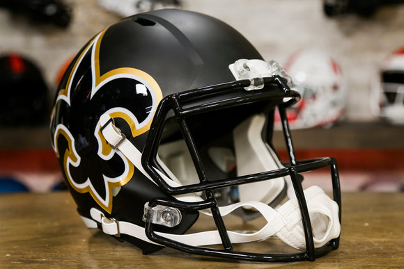 New Orleans Saints Limited Edition AMP Replica Helmet