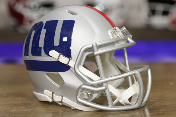 New York Giants Limited Edition AMP Mini Helmet