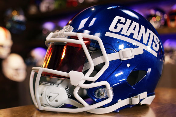 New York Giants Riddell Speed Authentic Helmet Color Rush Throwback