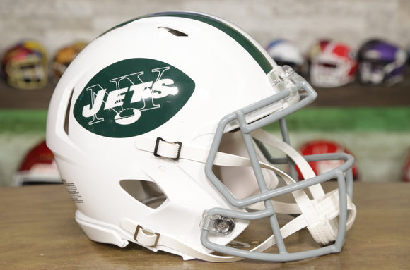 New York Jets Riddell Speed Authentic Helmet - 1965-1977 Throwback