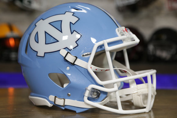 North Carolina Tarheels Riddell Speed Authentic Helmet
