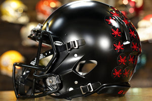 Ohio State Buckeyes Riddell Speed Authentic Helmet Black Satin