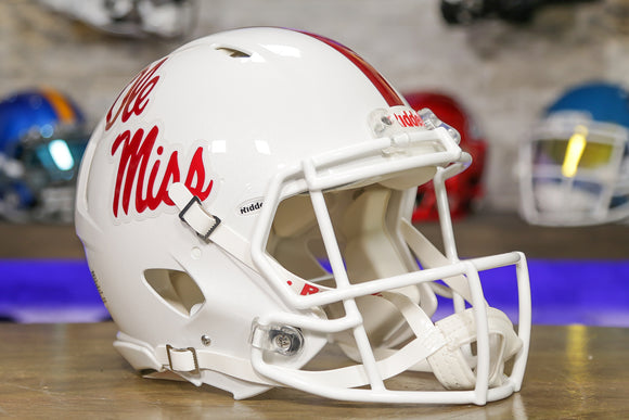 Ole Miss Rebels Riddell Speed Authentic Helmet