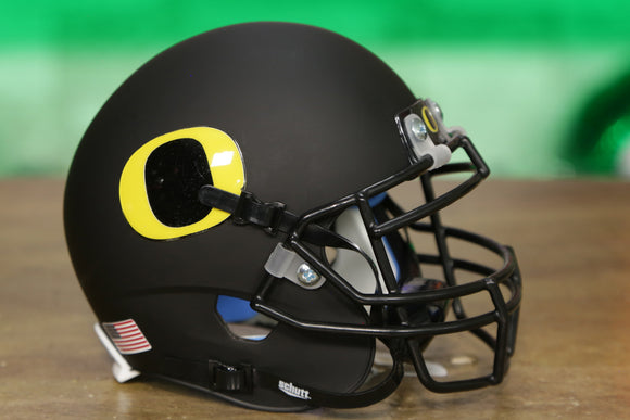 Oregon Ducks Schutt XP Mini Helmet - Matte Black