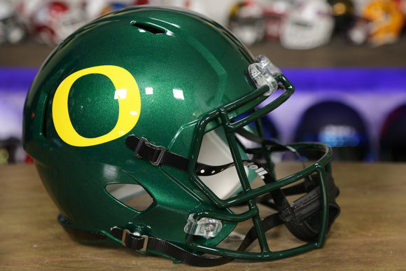 Oregon Ducks Riddell Speed Replica Helmet - Green
