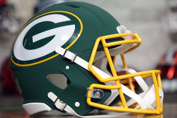 Green Bay Packers Limited Edition AMP Authentic Helmet