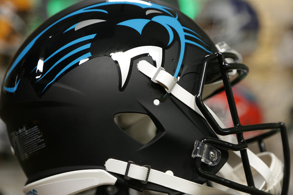Carolina Panthers Special Edition AMP Authentic Helmet