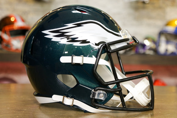 Philadelphia Eagles Riddell Speed Replica Helmet