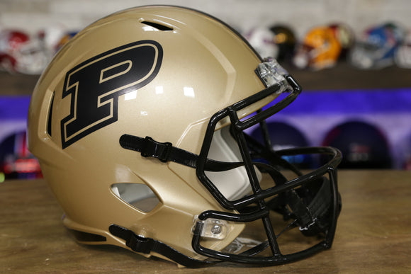 Purdue Boilermakers Riddell Speed Replica Helmet