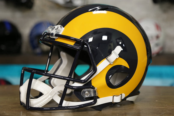 Los Angeles Rams Riddell Speed Authentic Helmet Color Rush