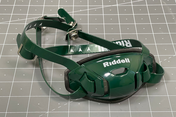 Riddell Hard Cup Chinstrap Buckles - Forest Green