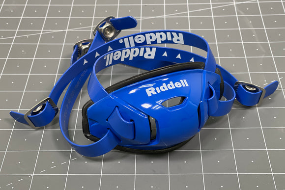Riddell Hard Cup Chinstrap Buckles - Royal Blue