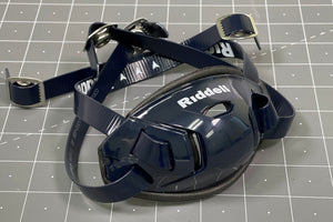 Riddell Hard Cup Chinstrap Buckles - Navy