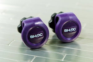 SHOC Viper Visor Clips - Purple